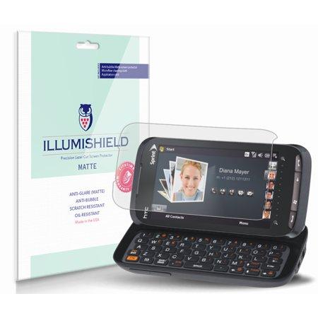 iLLumiShield Anti-Glare Matte Screen Protector 3x for HTC Touch Pro2 (Sprint)