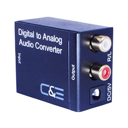 C Digital Optical Coax To Analog R L Audio Converter  Cne723225