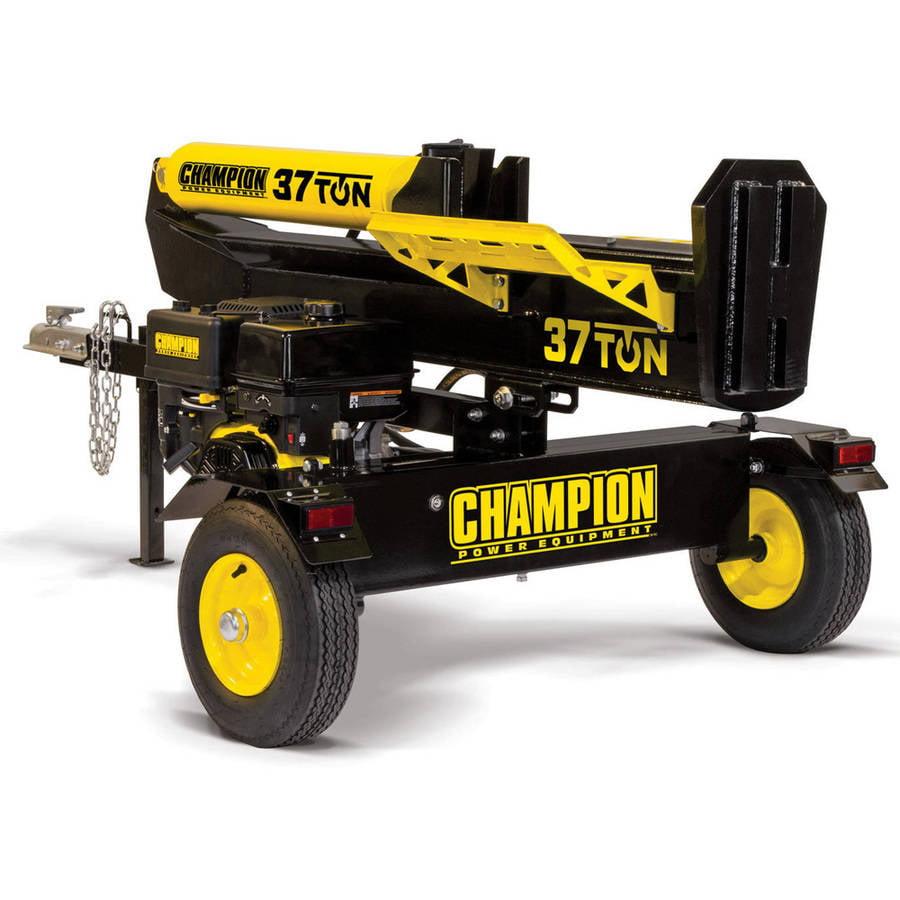 Champion 37-Ton Horizontal Vertical Full Beam Gas Log Splitter with Auto Return by Champion Power Equipment