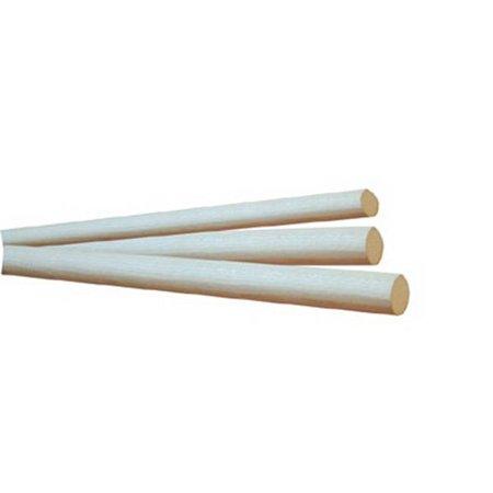 36 Oak Dowel - Hill Wood Products HW08 O 0.5 x 36 in. Wood Dowel Rods - Red Oak
