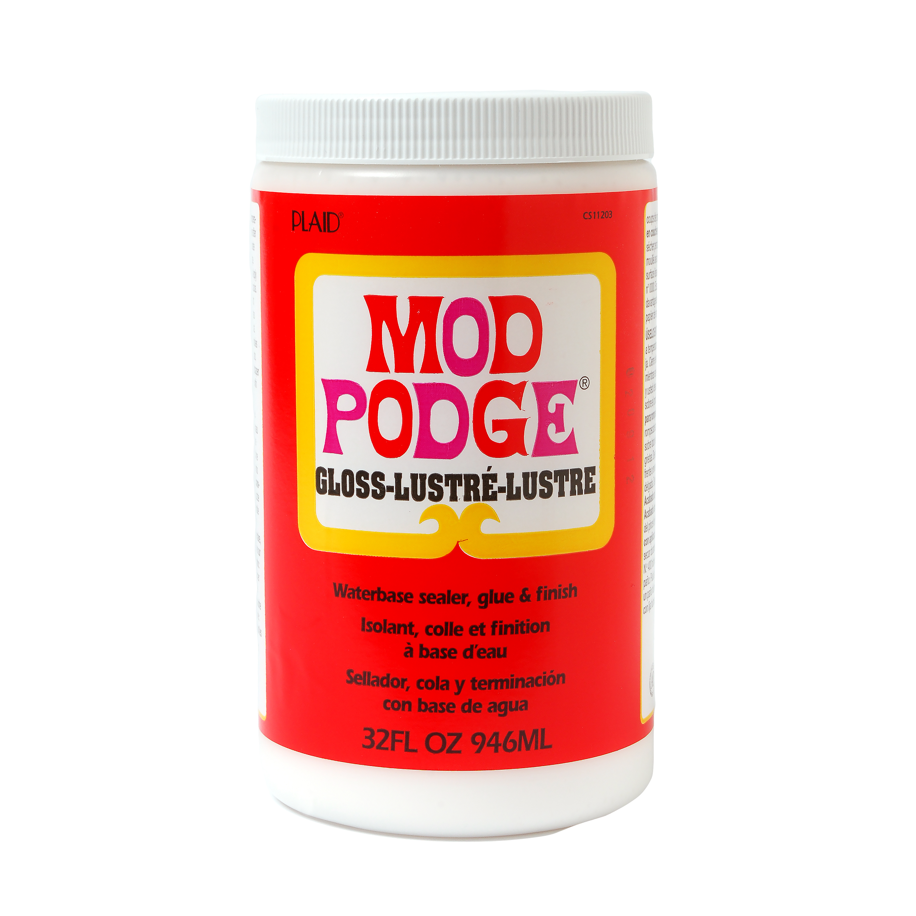 Mod   Podge Gloss, Glue, Sealer and Finish for Decoupage by Plaid, 32 oz.