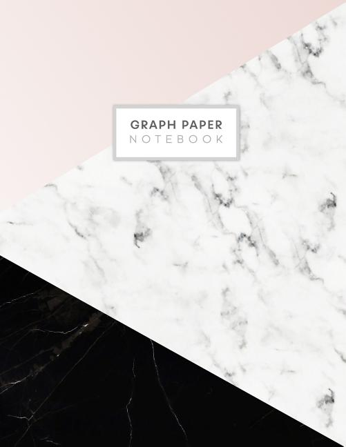 graph paper notebook  blank math composition book quad