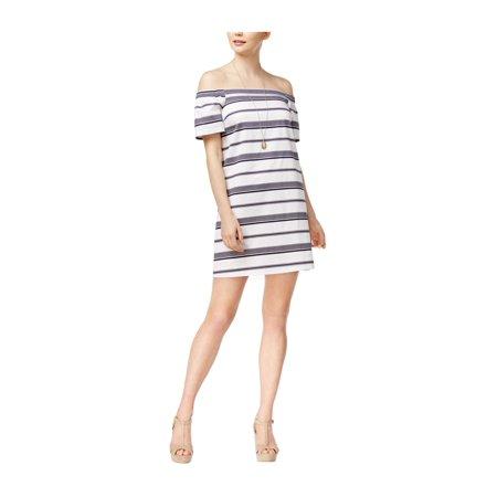 maison Jules Womens Striped Sheath -