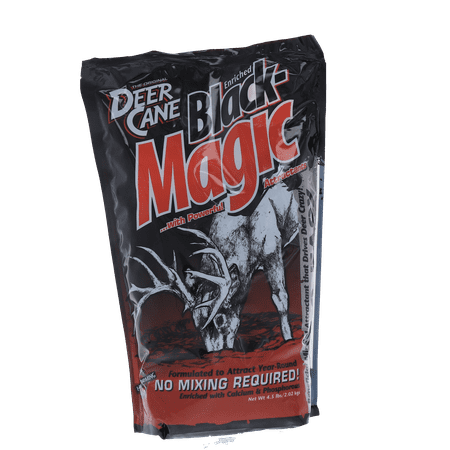 2 Whitetail Deer (Evolved Habitats Deer Cane Black Magic Attractant)