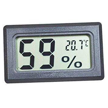 P0250 Mini Hygro Thermometer - Mini Digi tal LCD Thermometer Hygrometer Humidity Temperature Meter Indoor