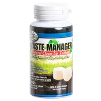 Four Paws Waste Manager Natural Clean-Up Tablets for Dog Waste Disposal System 24 Tablets - (3 to 6 Month Supply)