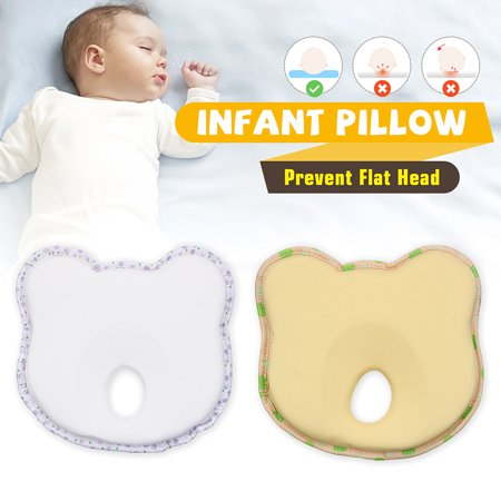 Newborn Infant Baby Pillow Infant Prevent Flat Head Support Cushion Toddler Sleep Positioner