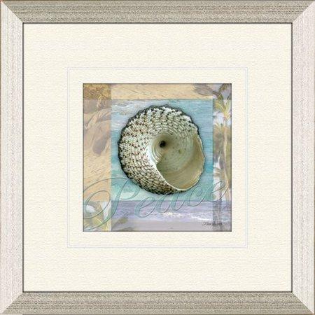 Image of PTM Images Restful Shell B Framed Graphic Art