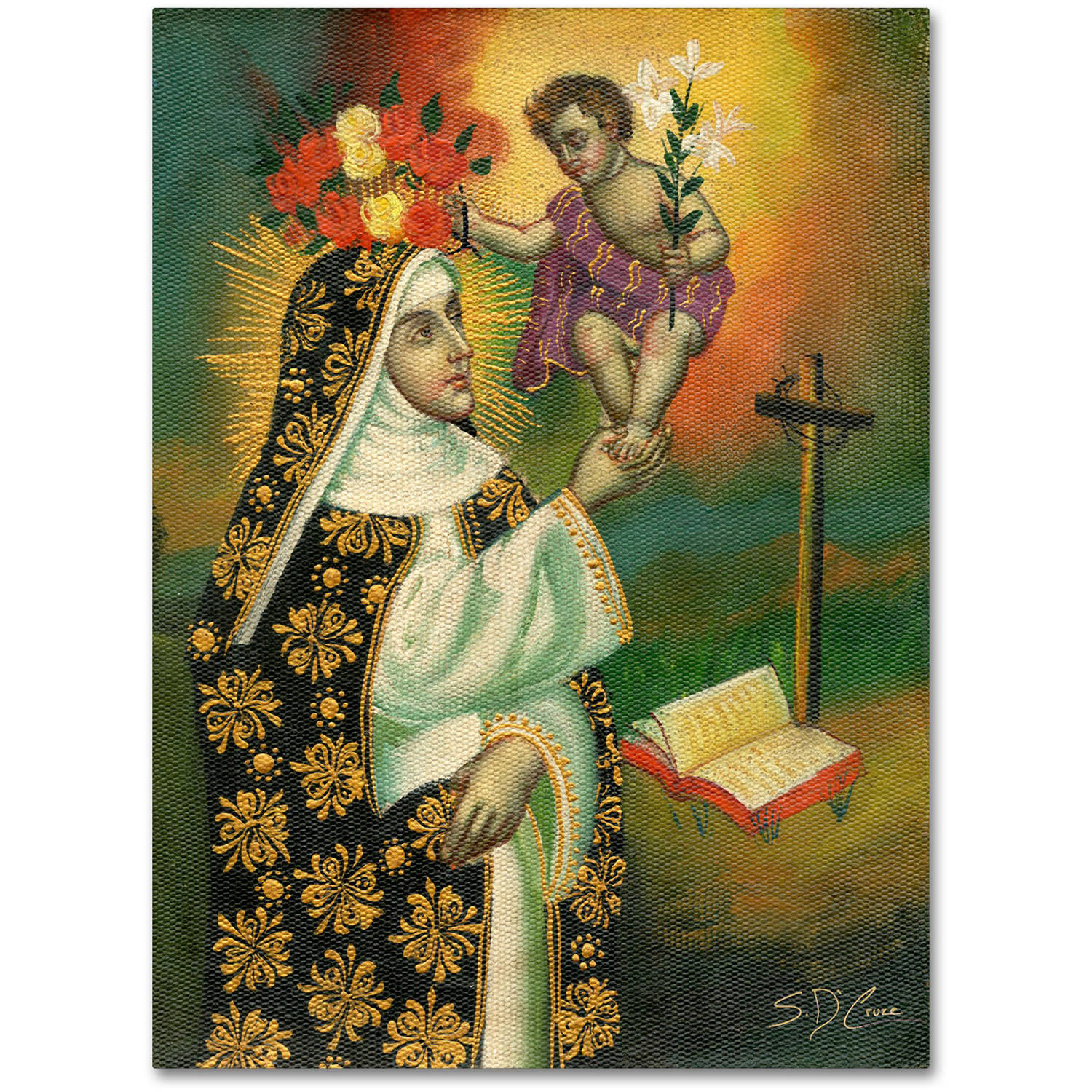 "Trademark Fine Art ""Mother and Child"" Canvas Art by Masters Fine Art"