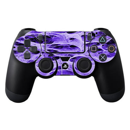 Skins Decals For Ps4 Playstation 4 Controller / Neurons Purple Web Skin