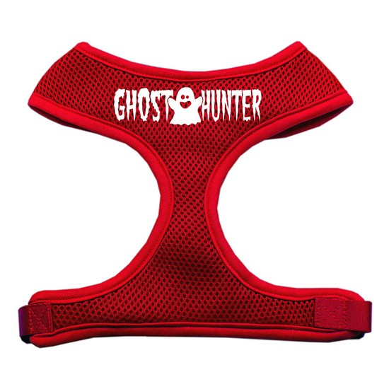 Ghost Hunter Design Soft Mesh Harnesses Red Large