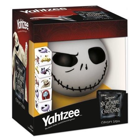 Nightmare Before Christmas - Halloween Yahtzee