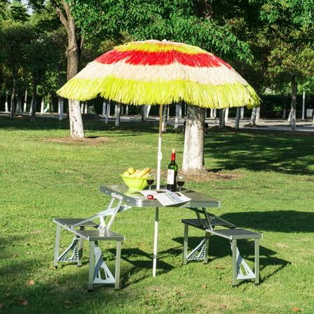 Tiki Beach Outdoor Umbrella - Adjustable and Lightweight - multicolour - image 4 of 7