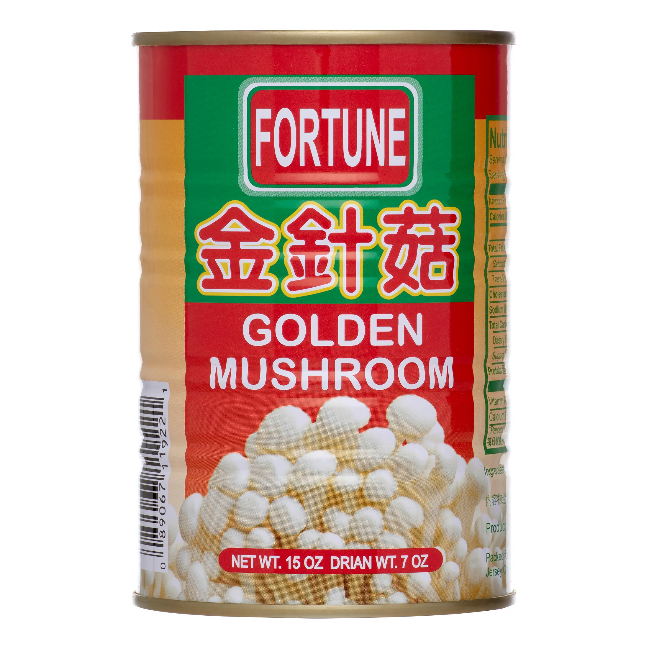 Fortune Golden Mushroom, 15 Oz by Fortune
