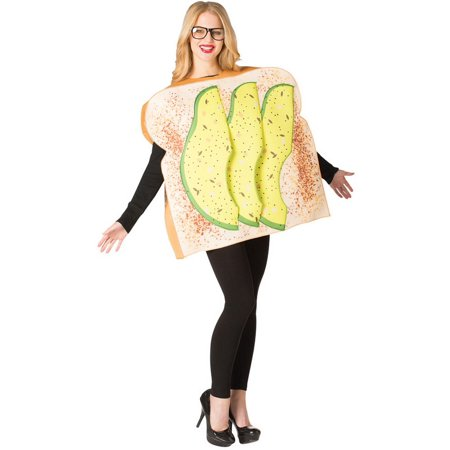 Adult Avocado on Toast - Alligator Costumes For Adults