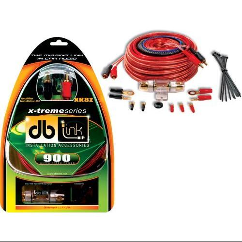 Db Link Xk8z 8-gauge X-treme Series Amplifier Installation Kit