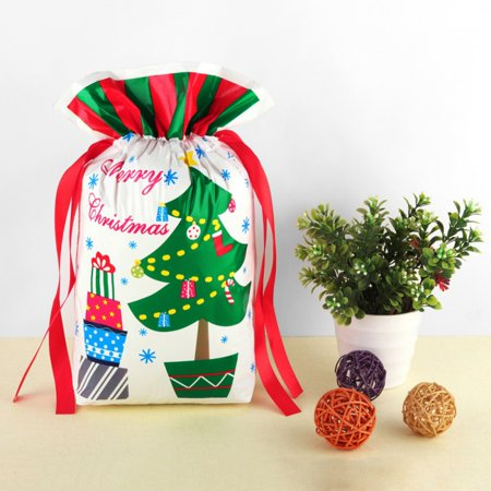 Christmas Snowman Organza Bag Christmas Gift Bag New Year Christmas Festival Party Decorations For Kids Gifts - New Year Gift