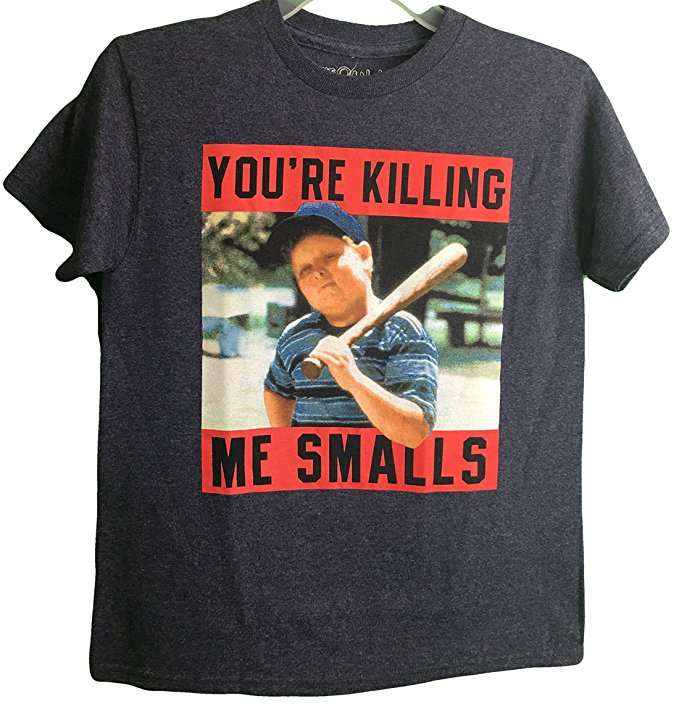 "The Sandlot Ham ""You're Killing Me Smalls"" Photo Real Youth T-Shirt (X-Large 18)"