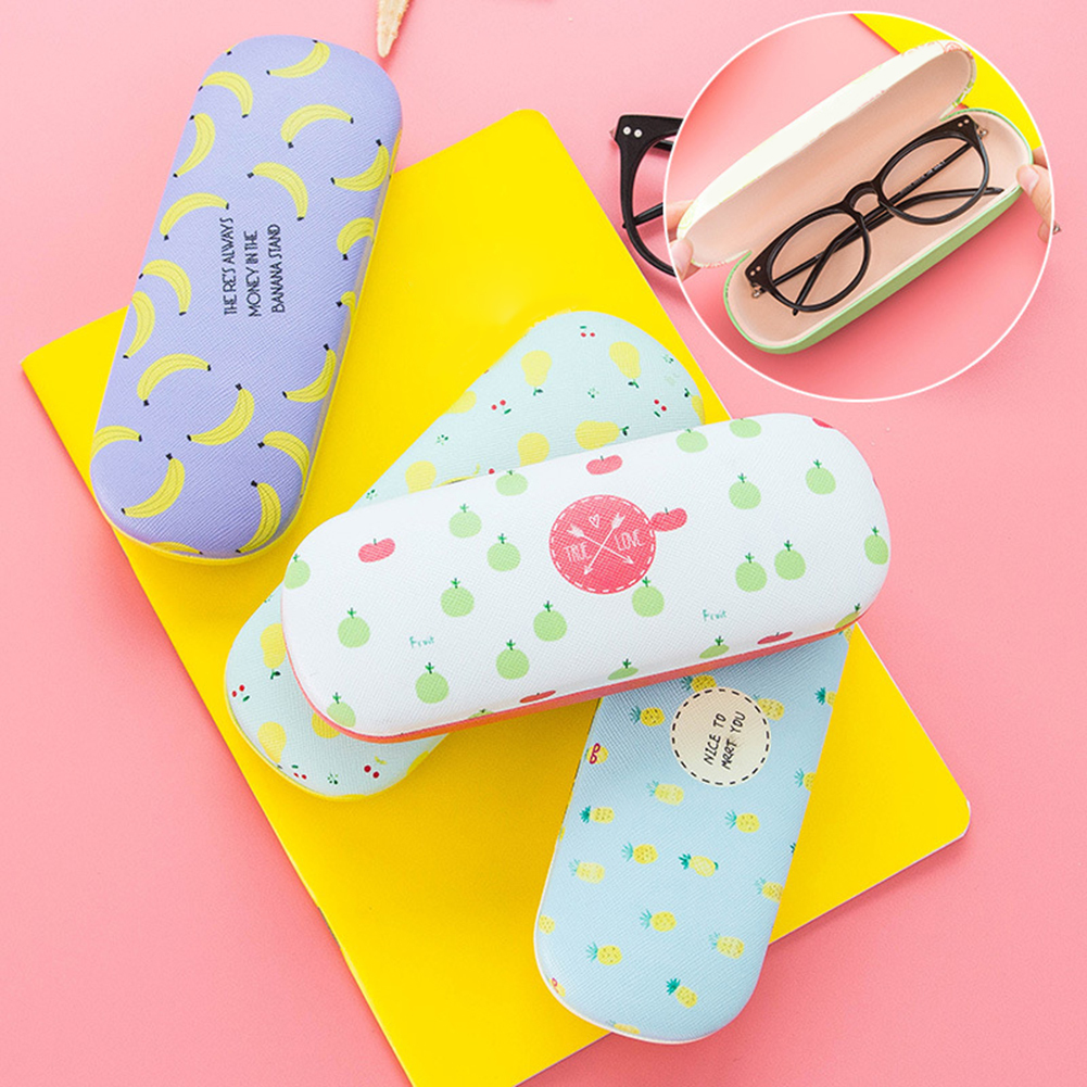Heepo Portable Eye Glasses Case Hard Box Student Sunglasses Holder Protector Container