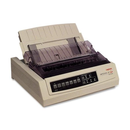 Oki MICROLINE 320 Turbo Dot Matrix Printer - 9-pin - 435 cps Mono - 240 x 216 dpi - Parallel, (Oki Microline 390 Turbo 24 Pin Printer)