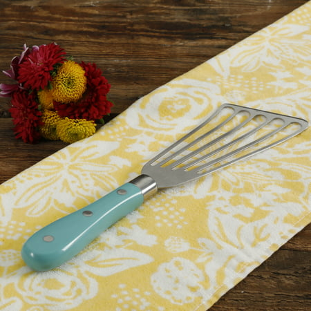 The Pioneer Woman Frontier Collection Teal Stainless Steel All Purpose Spatula