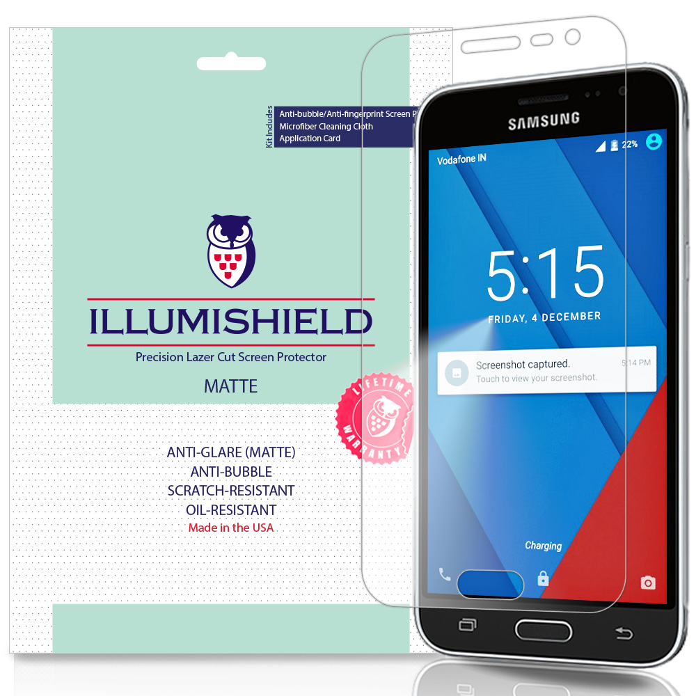 3x iLLumiShield Ultra Clear Screen Protector for Samsung Galaxy Express Prime