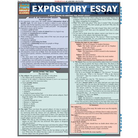 Expository Essay  Walmartcom  Small Essays In English also Science Essay Example  College Assignment For Sale