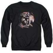 Arkham City Blood Moon Mens Crewneck Sweatshirt