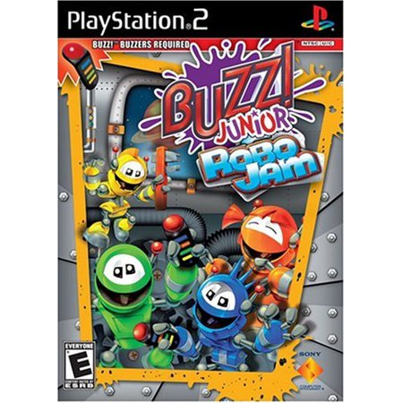Buzz Jr Robo Jam (software only), Sony Computer Ent. of America, PlayStation 2,