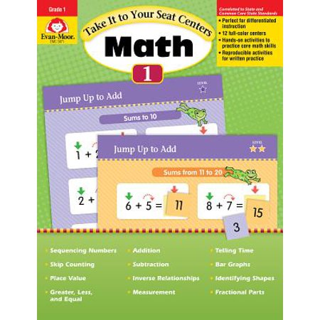 Take It to Your Seat Math Centers Grade 1 ()