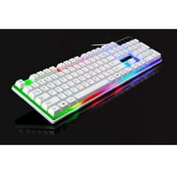 Keyboard Mouse Set, G21 LED Backlight Gaming Game USB Wired Keyboard /keyboard Mouse Set