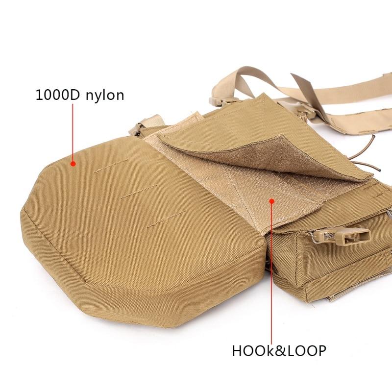 Muti functional Tactical Pouch Molle Admin Magazine Storage Bag Air Gun Holster