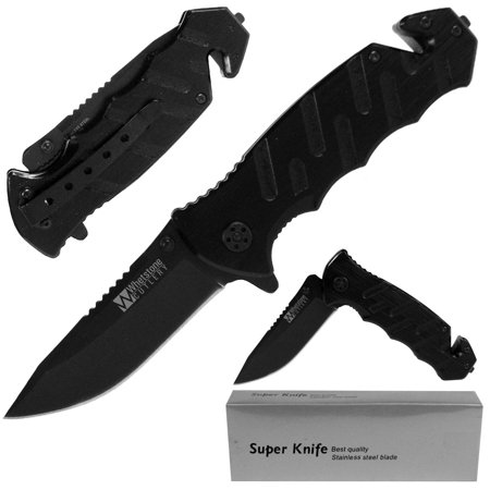 Tough Rescue Tactical Folding Pocket Knife by - Pocket Knife Personalized