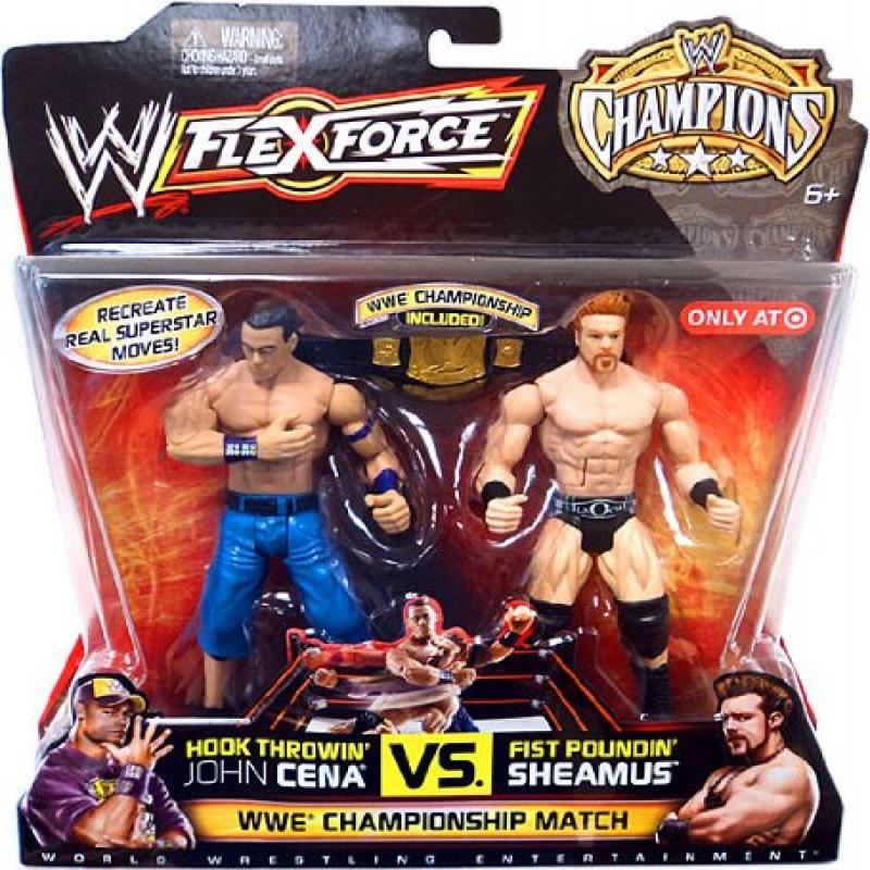 Mattel WWE Wrestling FlexForce Champions Exclusive Action...