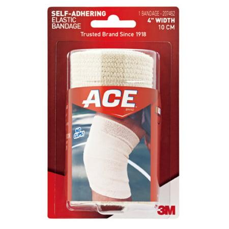 Ace Self Adhering 4   Elastic Bandage  Tan  1 Each  Quantity