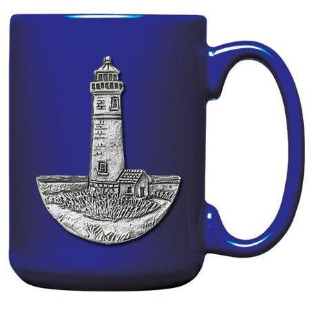 Lighthouse Coffee Mug (Pewter Lighthouse)