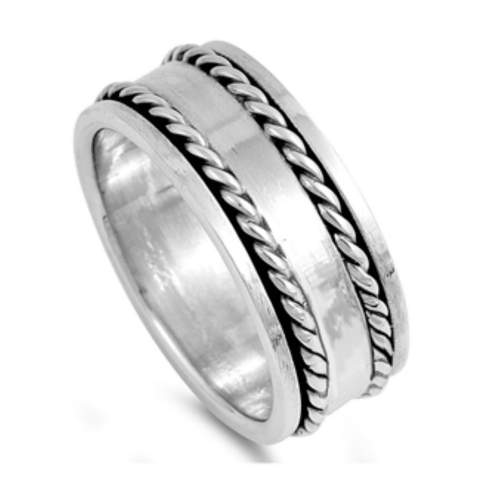 925 Sterling Silver Spinner Ring