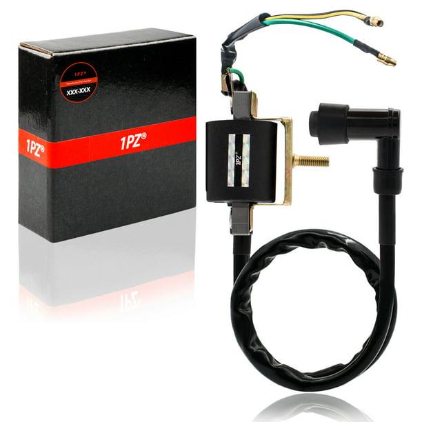 2-Wire Ignition Coil for 4-stroke 50cc 70 cc 90cc 110 cc 125cc ATVs DirtWalmart.com