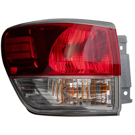 BROCK Drivers Tail Light Replacement for 2013-2016 Nissan Pathfinder Quarter Panel Mounted Left Lamp Assembly 265553KA0A 26555-3KA0A ()