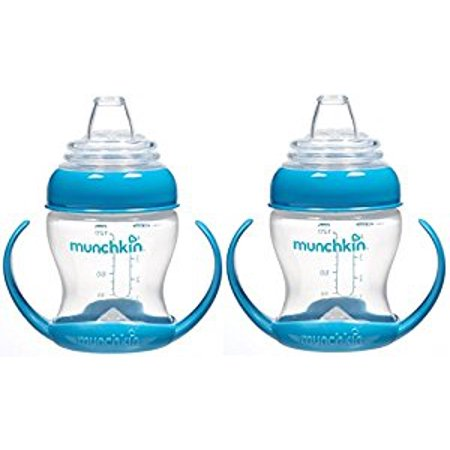 Munchkin Flexi-Transition 4 Ounce Trainer Cup, 2 Pack