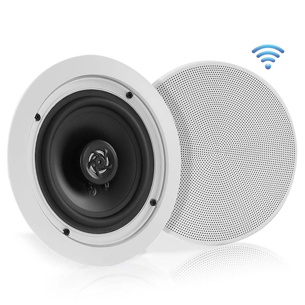 """4 Pyle 5.25/"""" Ceiling Speakers for Home//Shop//Office Use /& In Wall Music Systems"""