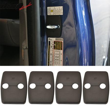 BMW F10 E90 E92 E60 F30 Door Latch Striker Catch Bracket Cover Cap 4 PC - PP (Door Striker Pin)
