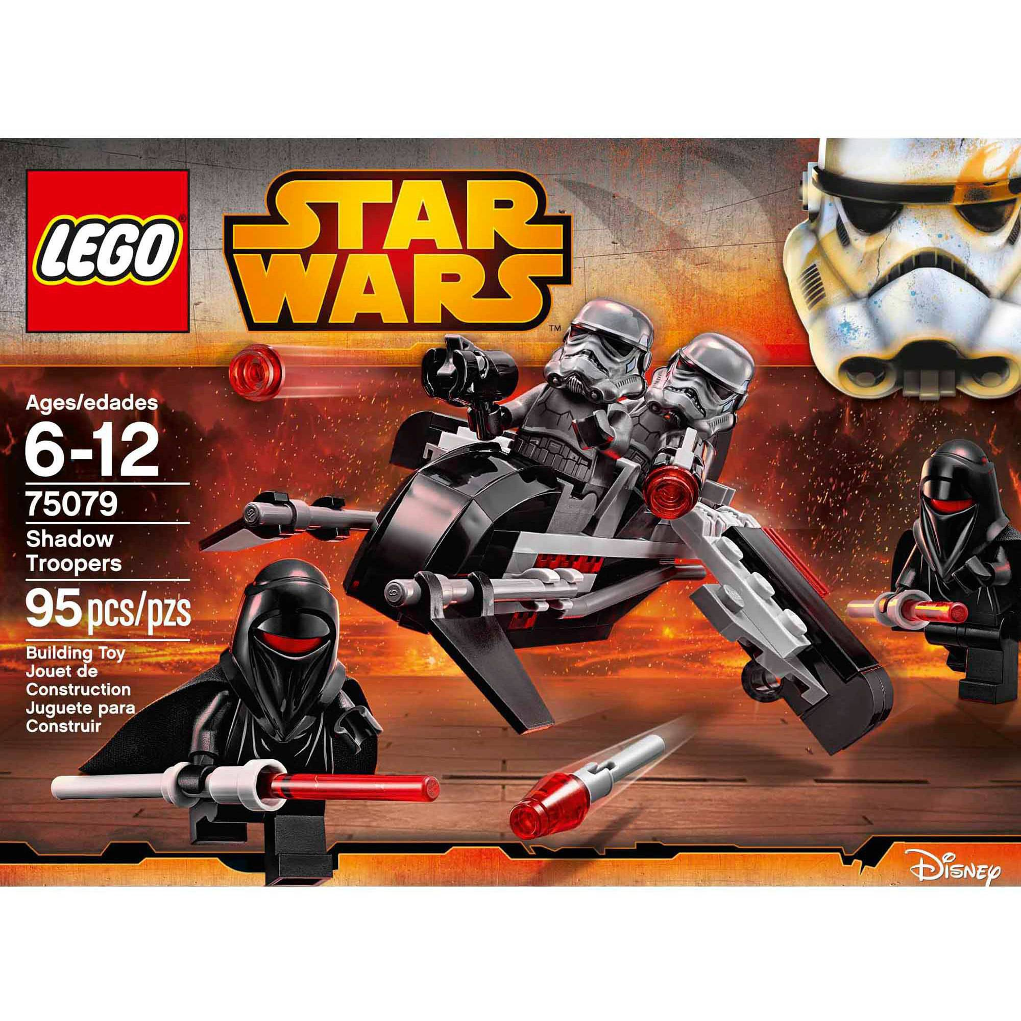 LEGO Star Wars Shadow Troopers 95 Pieces NEW 75079 retired 4 mini figure set