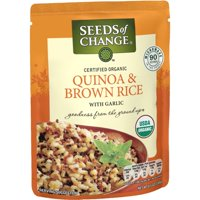 (4 Pack) SEEDS OF CHANGE Organic Quinoa & Brown Rice, 8.5oz
