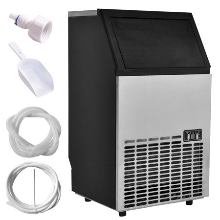 Bunn Commercial Iced Tea Maker - Costway Built-In Stainless Steel Commercial Ice Maker Portable Ice Machine Restaurant