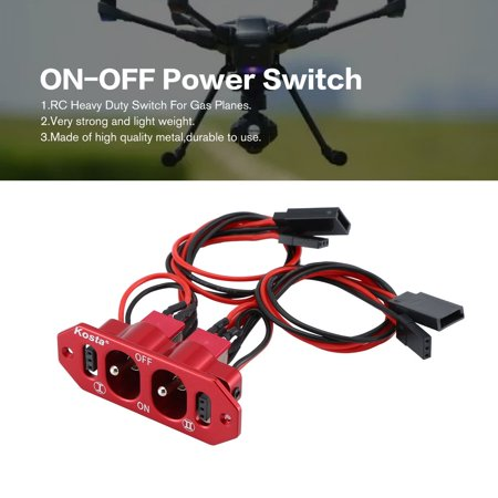 CNC Heavy Duty Double ON-OFF Power Switch Futaba JR Cable For RC Models - image 8 of 9