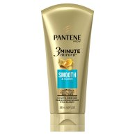 Pantene Smooth & Sleek 3 Minute Miracle Daily Conditioner, 6.0 fl oz