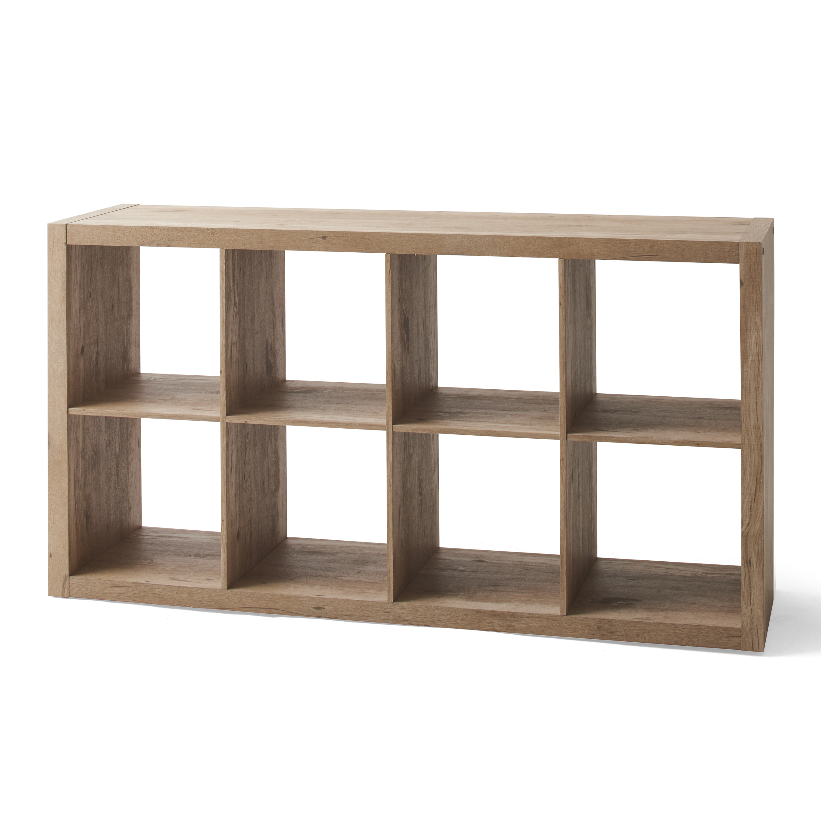 Better Homes /& Gardens 8-Cube Storage Organizer Natural Finishes