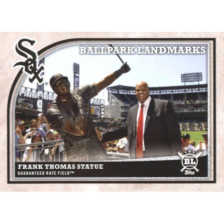 2018 Topps Big League #353 Frank Thomas Statue Chicago White Sox Baseball Card - *GOTBASEBALLCARDS](Big Frank)
