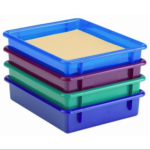 Jonti Craft Paper Tray and Lids (Clear)